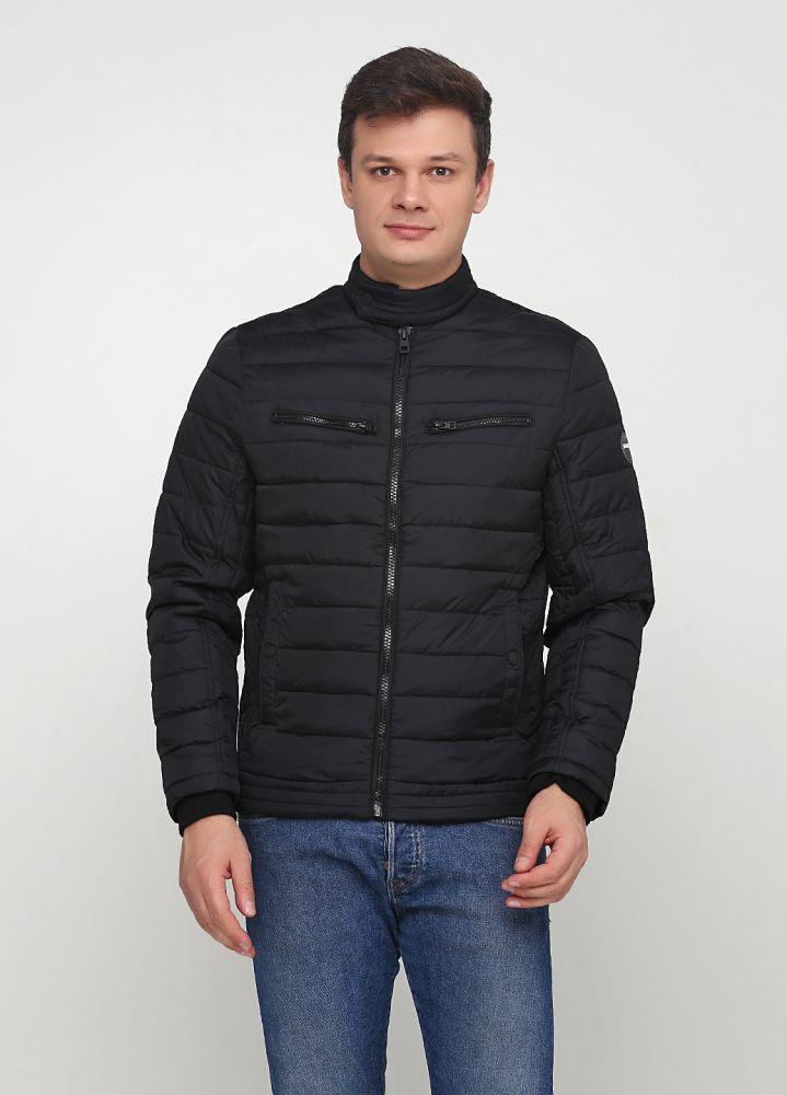 """Черная демисезонная куртка """"Maleko"""""""