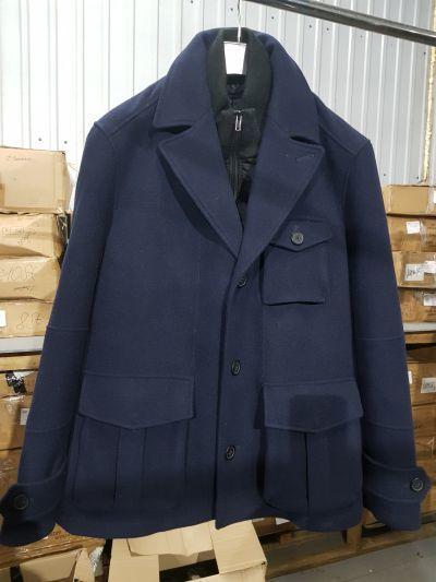 """Пальто """"Lerros"""" темно-синее"""