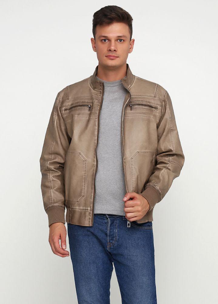 """Куртка мужская коричневая """"Thomas Goodwin"""" 1 (кожа)"""