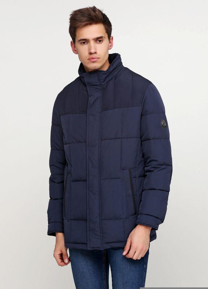 Курточка мужская зимняя THOMAS GOODWIN темно-синяя