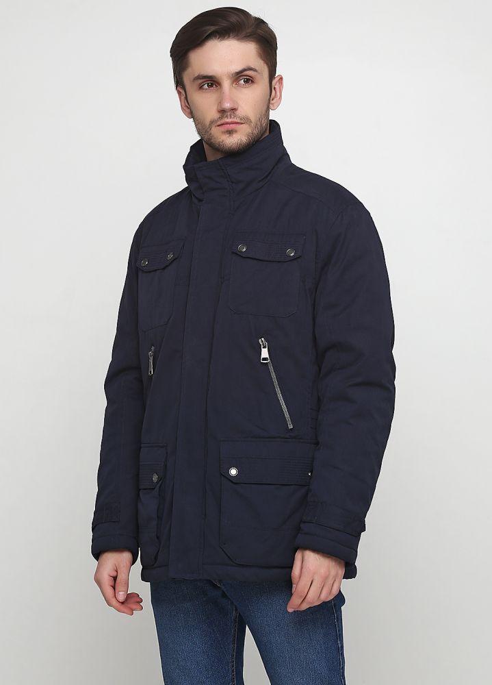 """Куртка мужская темно-синяя демисезонная """"Tomas Goodwin"""" (navy 1)"""
