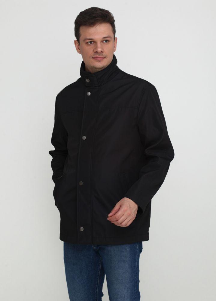 """Черная демисезонная куртка """"Thomas Goodwin"""""""