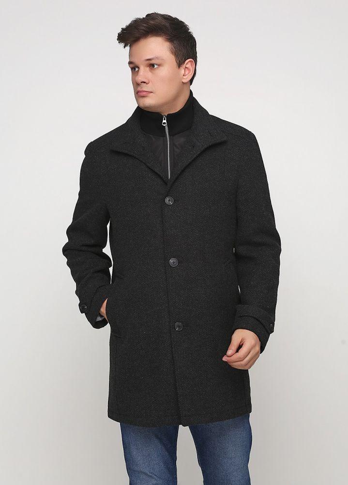 Пальто мужское Bexleys темно-серое