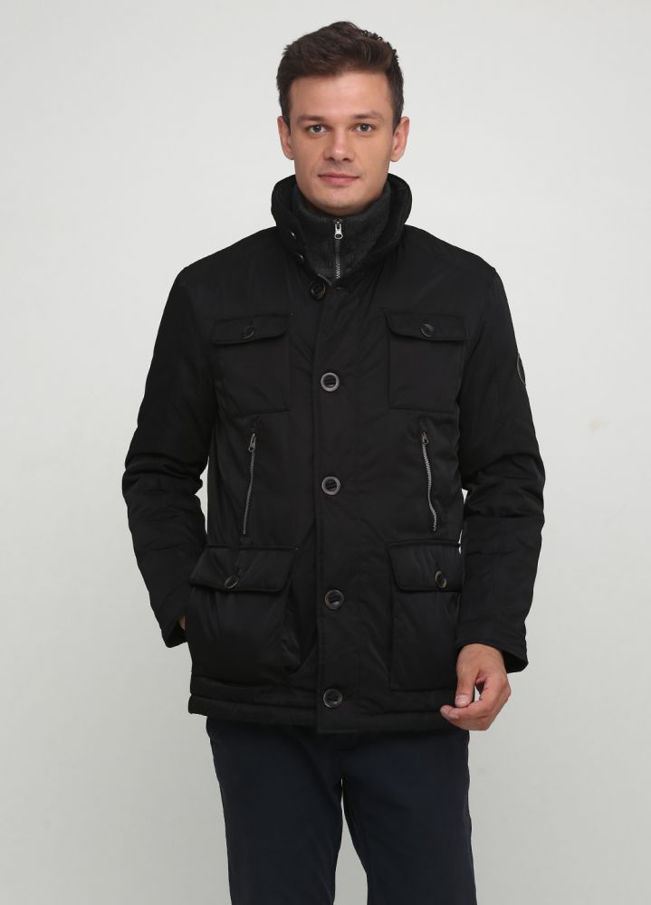 """Куртка мужская зимняя черная """"Yorn"""""""