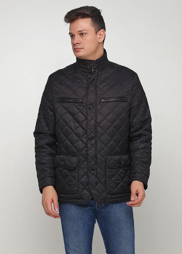 """Куртка мужская черная демисезонная """"Yorn"""""""