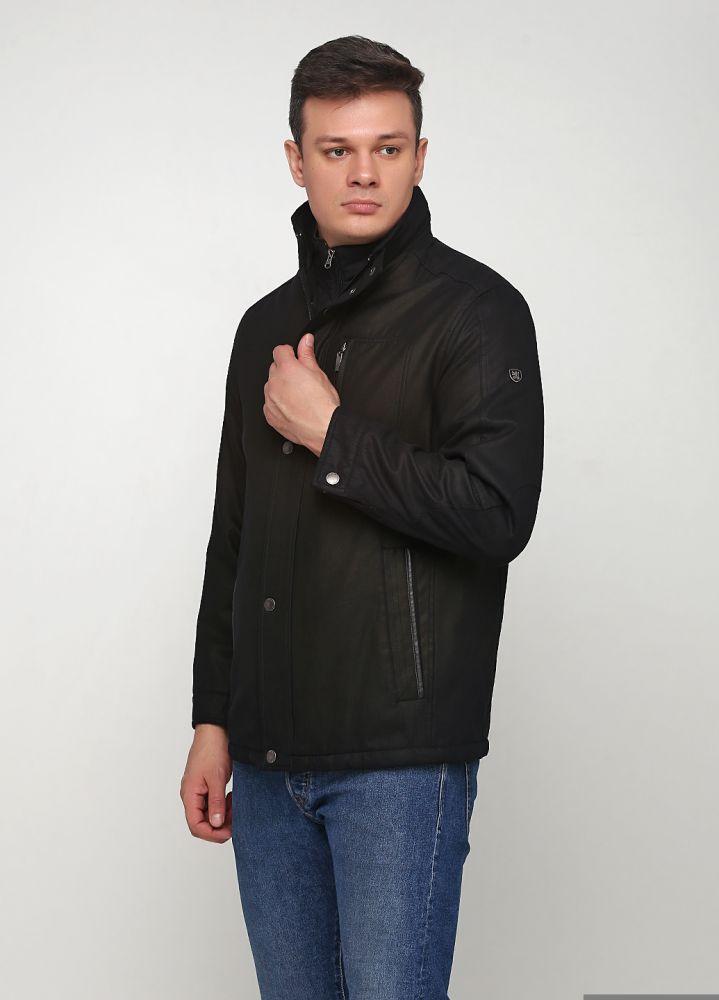 """Куртка мужская черная удлиненная """"A.W. Dunmore"""""""