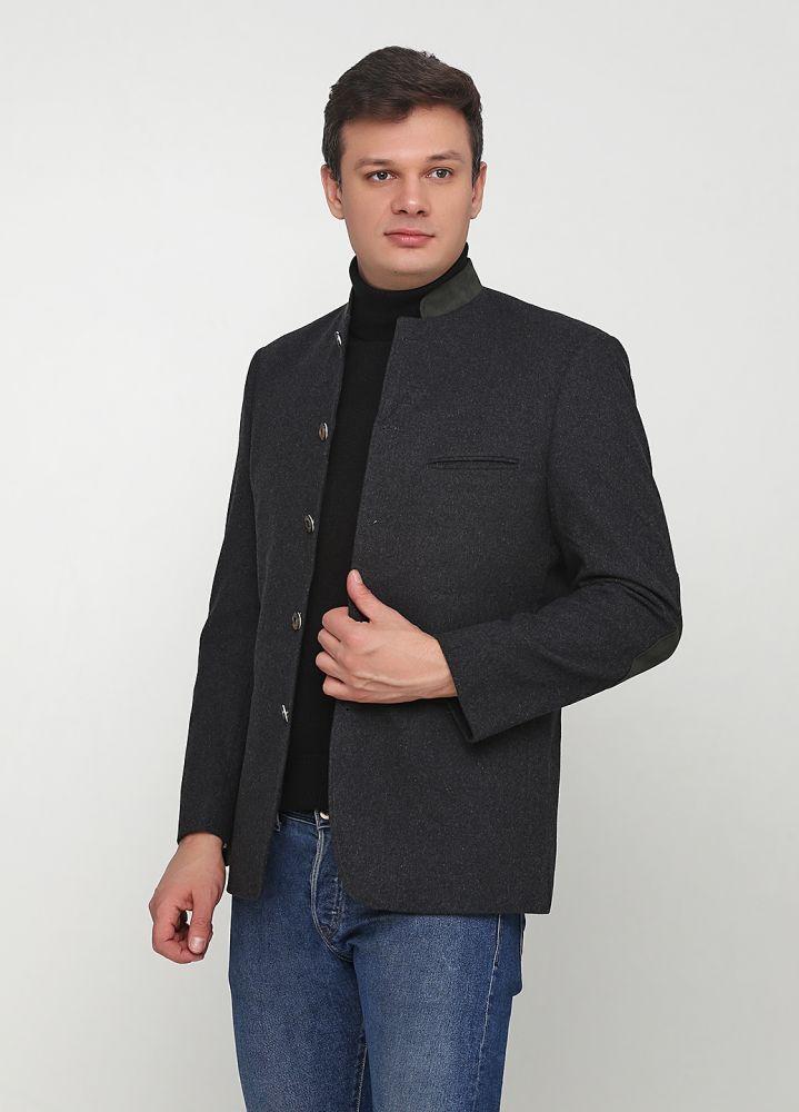 """Темно-серое короткое пальто """"A. W. Dunmore"""""""