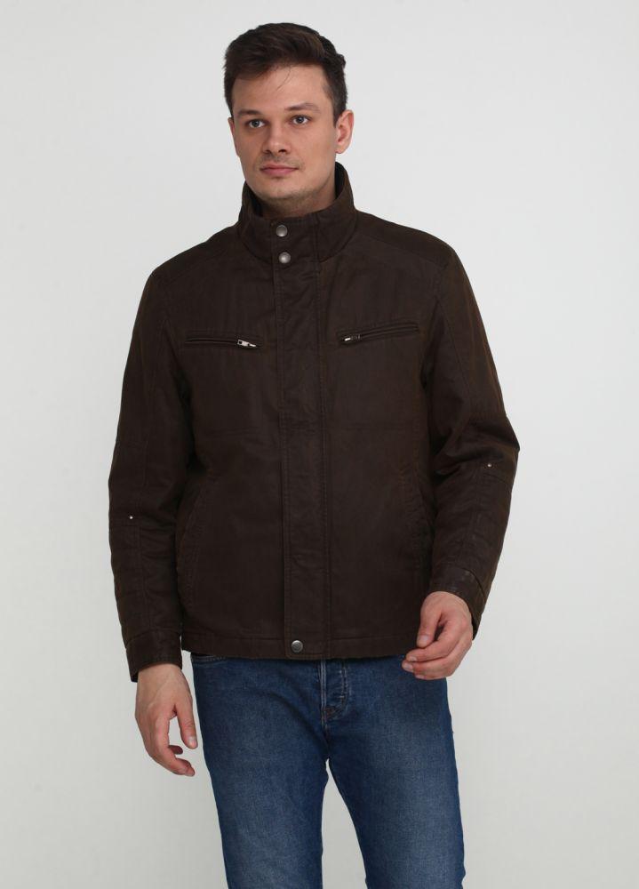 Куртка мужская демисезонная Kaiser черная короткая
