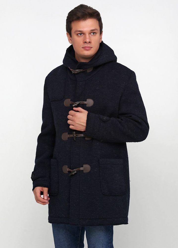 Пальто мужское Nils Sundstrom темно-синее