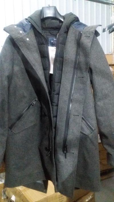 """Пальто """"Nils Sundstrom"""" c подкладкой-пуховиком"""