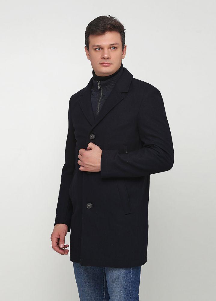 """Пальто мужское темно-синее """"GIORGIO"""""""