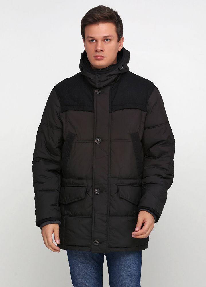 Пуховик мужской Fischer темно-серый