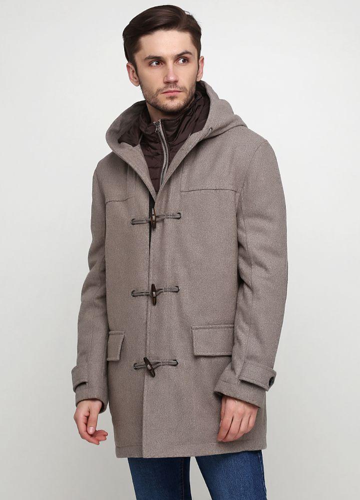Пальто мужское FINSHLEY&HARDING серое
