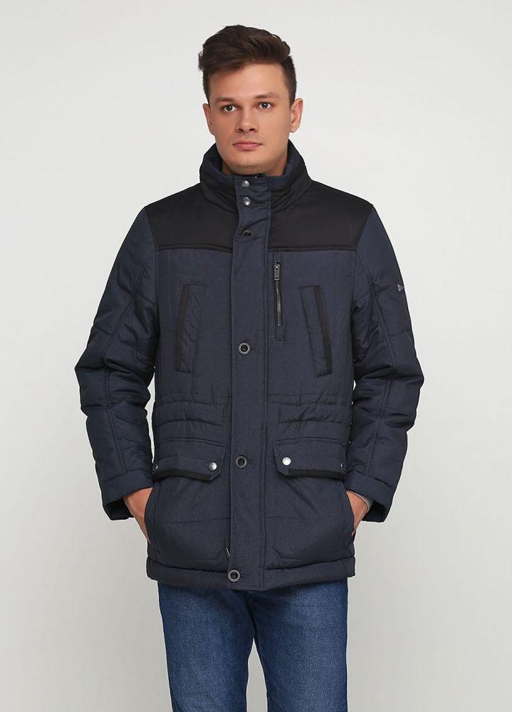 Курточка мужская зимняя Paul R. Smith темно-синяя
