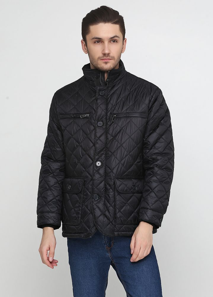 Куртка мужская демисезонная Robert Red черная