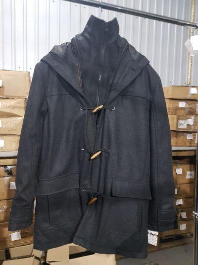 """Пальто мужское зимнее темно-серое """"Tom Tailor"""""""