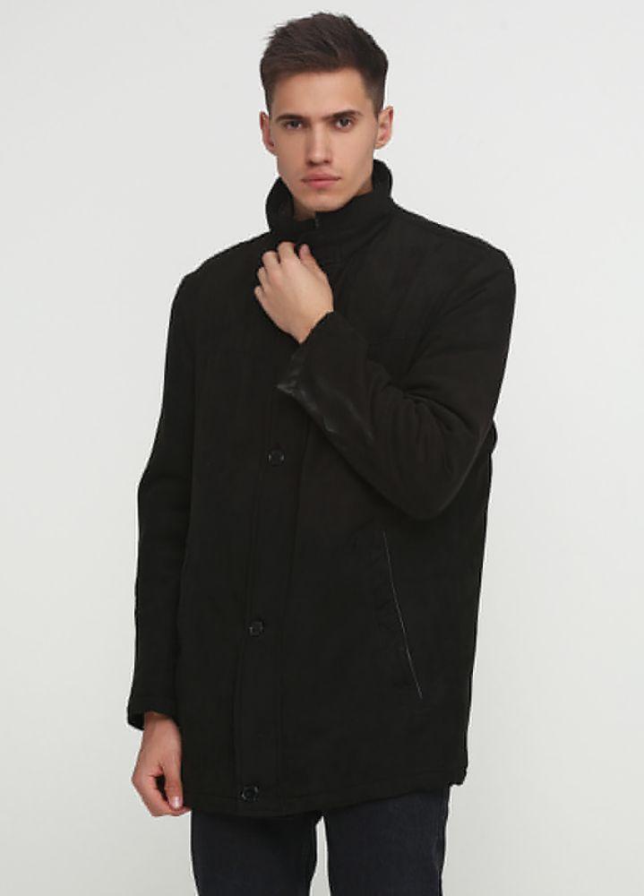 Курточка мужская демисезонная C.Comberti черная (замш)