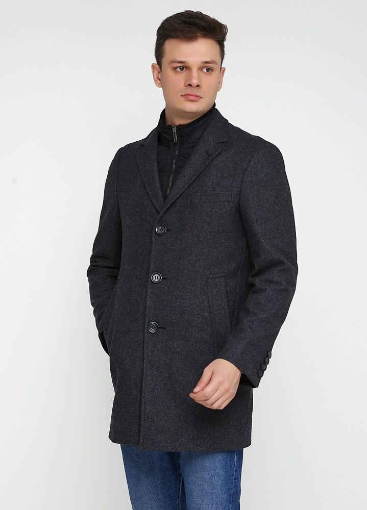 Пальто мужское Esprit серое