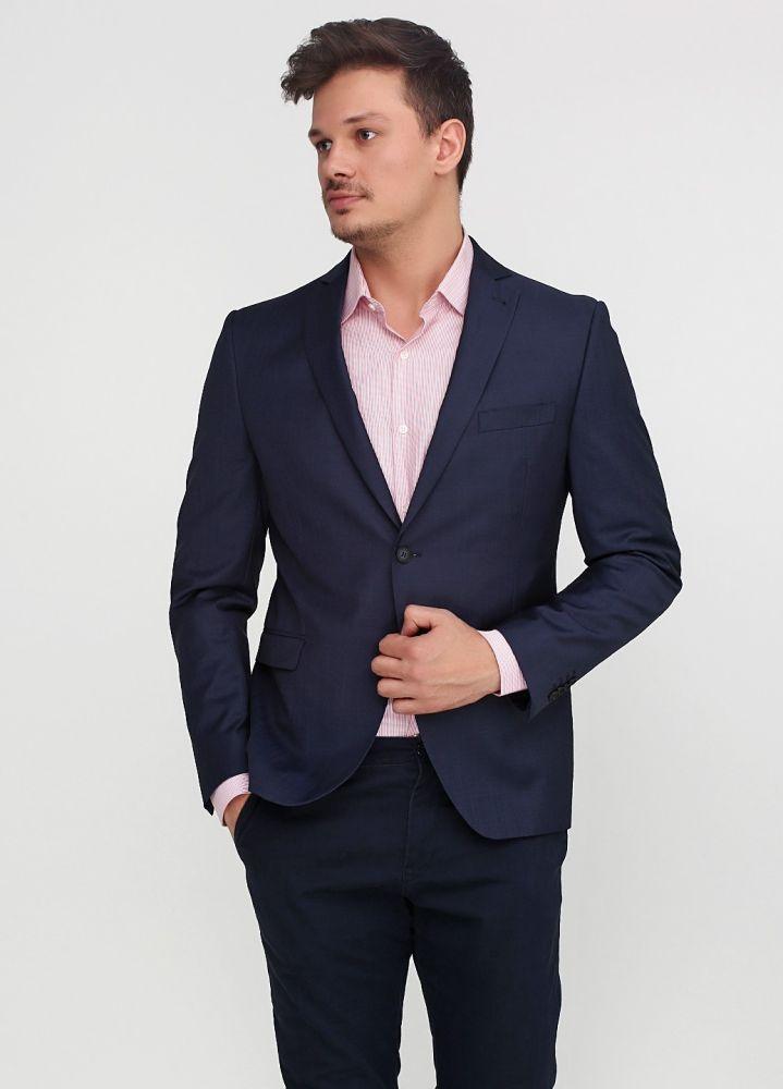 Пиджак Cinque темно-синий