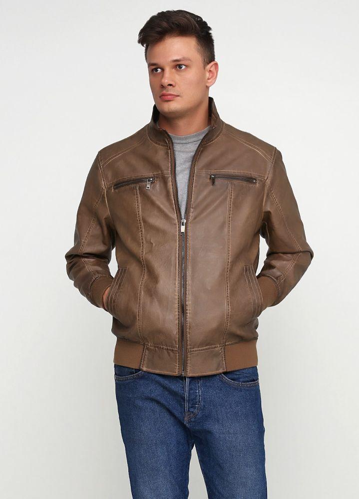 Куртка мужская демисезонная Mans World коричневая