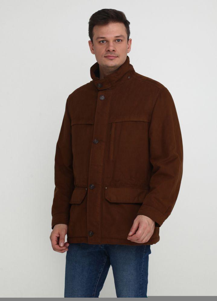 """Куртка мужская коричневая демисезонная """"MARCO CAPELLI"""""""